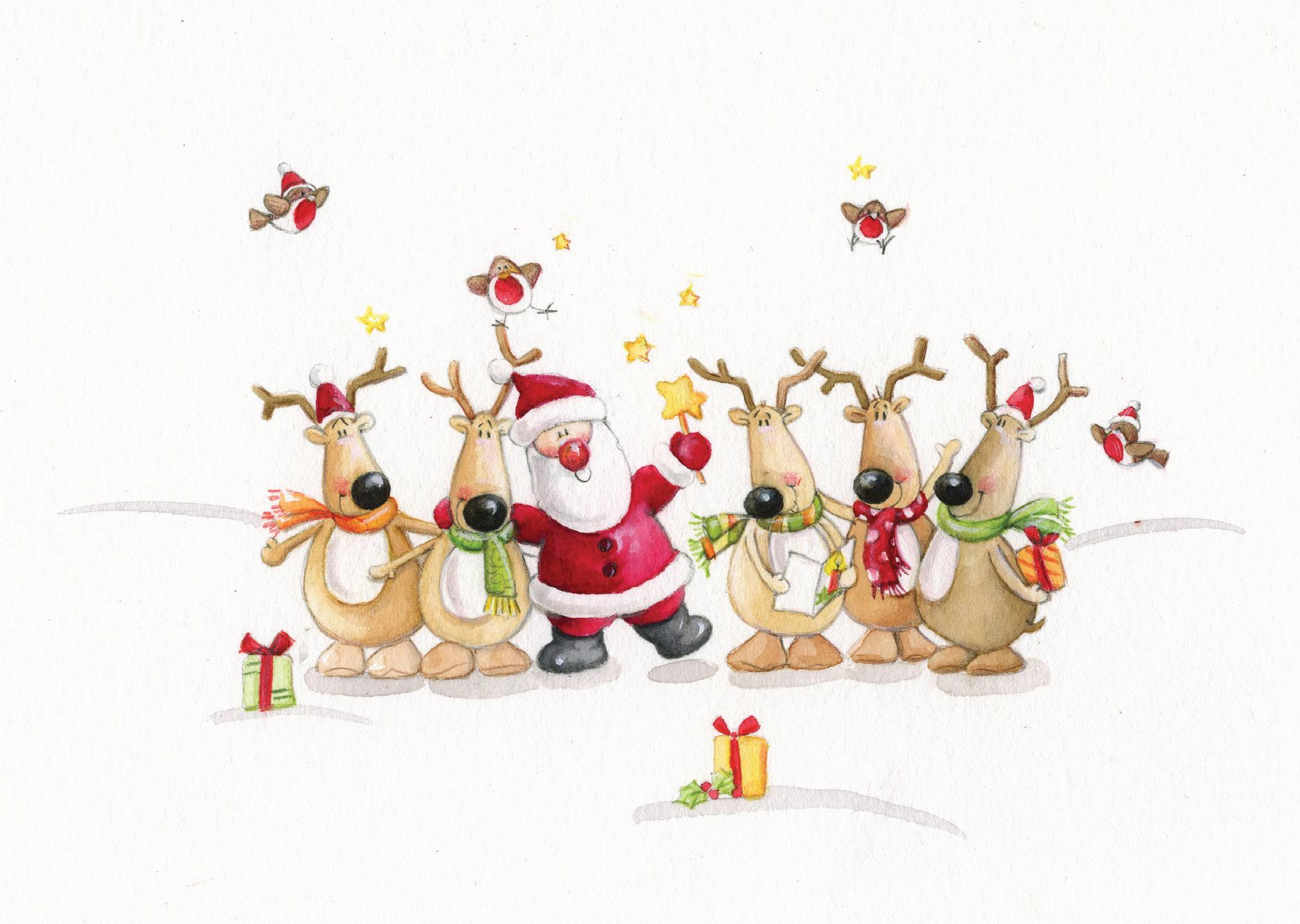 Christmas Cards Jolly Christmas The Haemophilia Society
